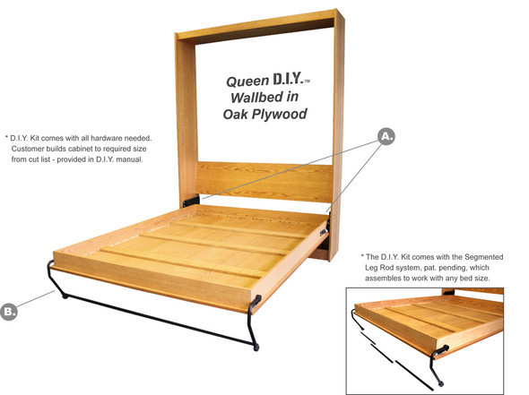 D I Y Wall Bed Kit Wall Bed Brisbane