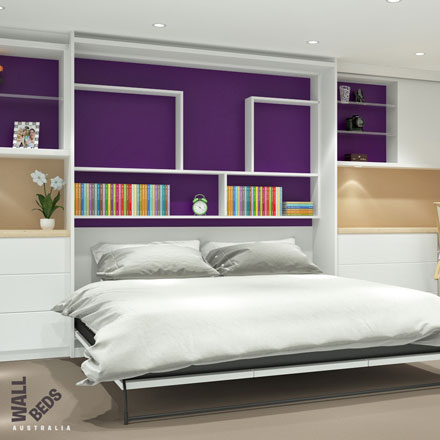 wall bed open